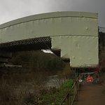 Restoration of the bridge well under way