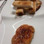 Foie de pato caramelizado - Restaurant CA LA PILAR (Pont Major-Girona)