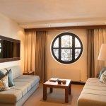 Wohnbereich in der Hotelsuite C2