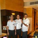 With Gabbar Singh & Surender