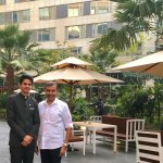 With Karan Chopra