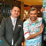 With Niraj Khatri