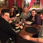 Family Quiz Team at one of our Quiz Nights at The Barley Mow.
