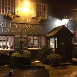 The Barley Mow looking lovely on a dark night