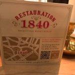 Restauration 1840 Foto