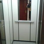 intérieur d'ascenseur