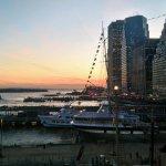 El atardecer desde el Pier 17
