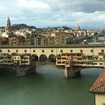 Ponte Vecchio from our room