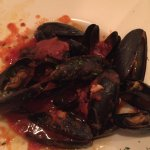 Mussels with Marinara Appetizer