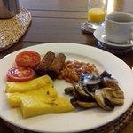 Fabulous vegetarian breakfast!