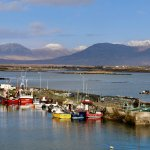 Roundstone Harbour Today - picture postcard