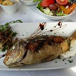 Delicious fresh fish at Azure Window in Dwejra - 2nd visit in three days. Recommended!