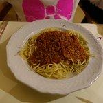 Hauptspeise - Spaghetti Bolognese (Kinderteller)