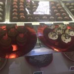 Valentine Cupcakes and Chocolate