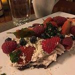 Berries and Chocolate dessert