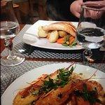 Salmon and Shrimp