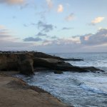 A view to the south from Sunset Cliffs