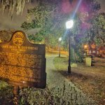 Colonial cemetery ...one of the most haunted places in Savannah !!
