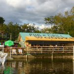 A dockside view of Woody's River Roo
