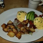 Eggs Benedict - great sauce just wish it had been 'hot...'