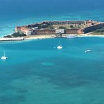 Fort Jefferson  at garden key Dry Tortugas National park