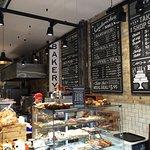 Inside Ann's Bakery on North Earl Street, near the Spire.