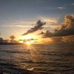 Sunset from beach area