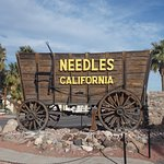 Needles California and Munchy's Cafe and Taco Shop, Front Street, Needles, CA.