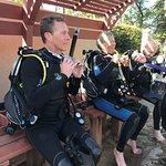 In between dives
