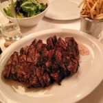 Ribeye for two at La Brasserie