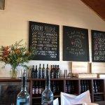 Inside tasting room st Charles Melton Winery
