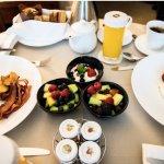 Breakfast in-room is served!