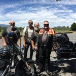 Our riders, John, Stalk, Mike, Pete