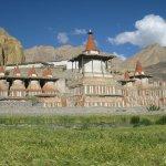 Tsarang Village in Upper Mustang, Nepal.