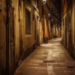 Night street - recommended by Stefano as a great spot for a nightshoot