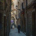 Barcelona Street in Gotico