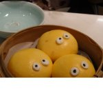 Custard faces