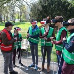 Expeditie Ribbelroute met virtual reality bril