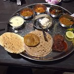 The perfect thali