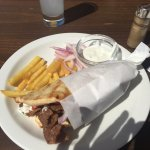 Lunch time gyros!