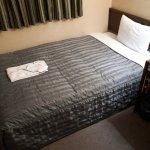 ベッドもシーツが清潔ですが、部屋はやや埃っぽいかも