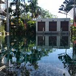The pool, a nice place for after beach relaxing