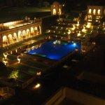 Swimming pool (warmed) at night