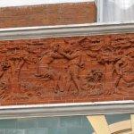 The Shakespeare frieze