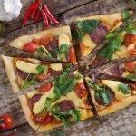 G7  Smoked Mozzarella / Halloumi Cheese / Grilled Cherry  Tomato / Artichokes / Milano Salami /