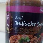 Die Balti Soße kann man sogar im Supermarkt finden. In diesem Restaurant trotzdem nicht. Schade!