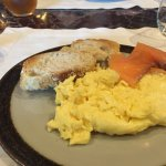 Smoked Salmon and Eggs, from breakfast