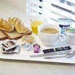 Proposition de plateau petit déjeuner complet et vitaminé