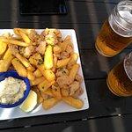 fish & chips $340 Uruguayos