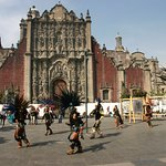 Dancers in Zocalo.